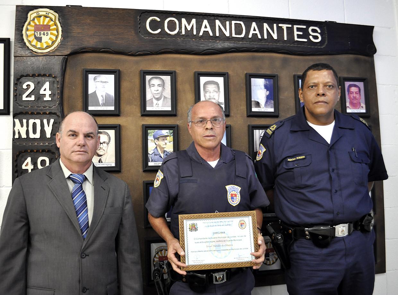 Comandante Ferraz, Israel e o subcomandante Soares: 26 anos de trabalho