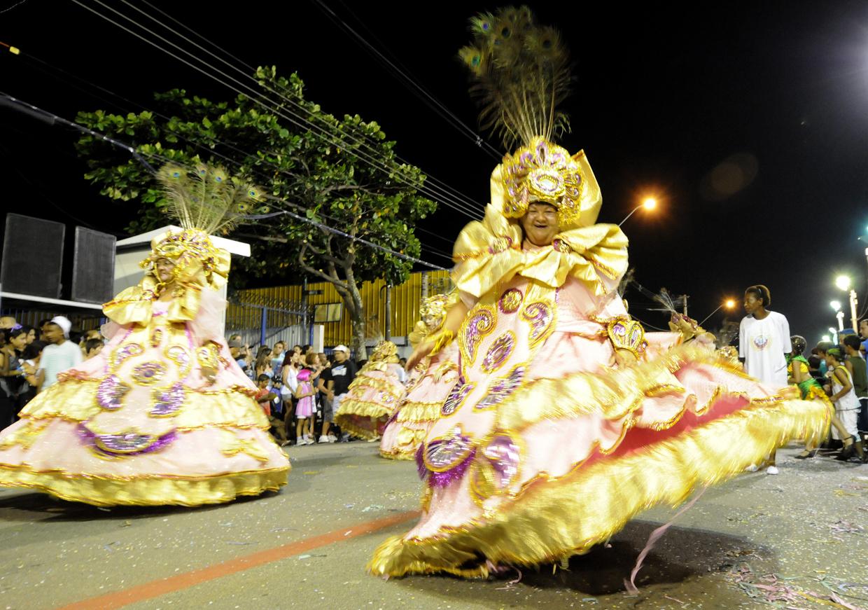O Carnaval de rua acontece nos dias 9 e 10 de fevereiro
