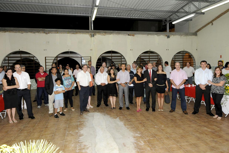Autoridades e convidados prestigiaram o lançamento do evento