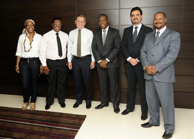 Diretores do ILG visitaram a Prefeitura na quarta-feira