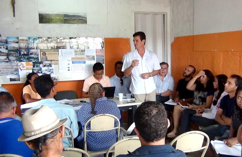 Secretários apresentaram propostas para os líderes da região