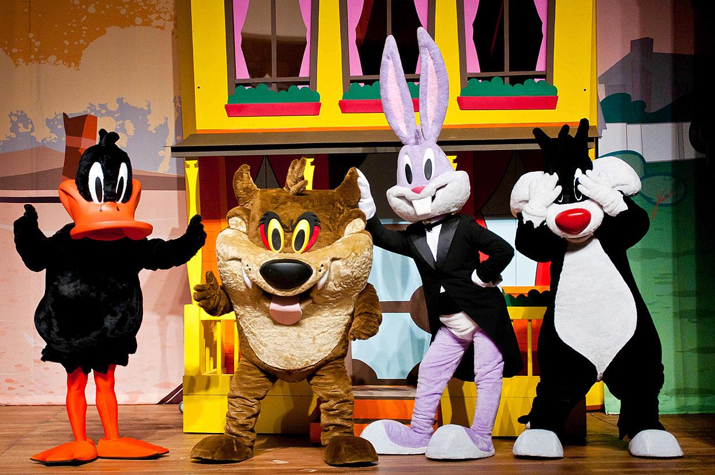 Diversão não vai faltar no musical 'The Looney Tunes Show'