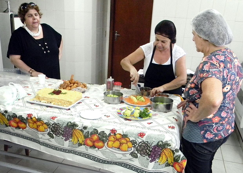 Pratos foram preparados com muita dedicação