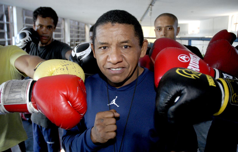 Luiz Cardosoquer dar experiência para seus lutadores