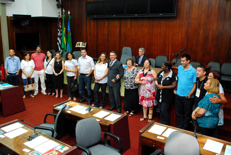 Os novos integrantes do Conselho