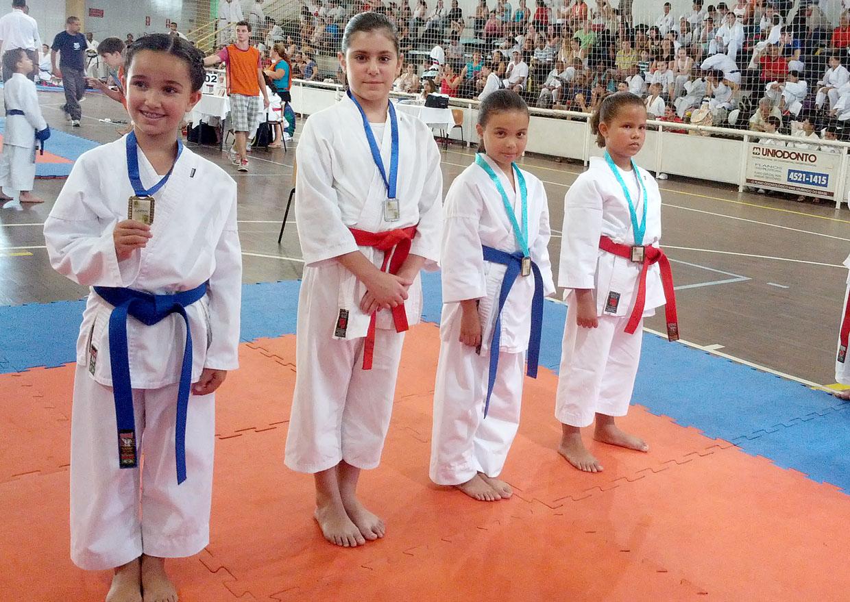 Evento no ano passado premiou vários atletas