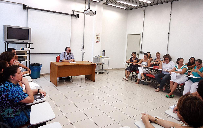 Durante o encontro foram discutidas melhorias para os professores municipalizados
