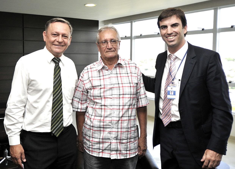 Prefeito Pedro Bigardi, Toninho e Cristiano Lopes
