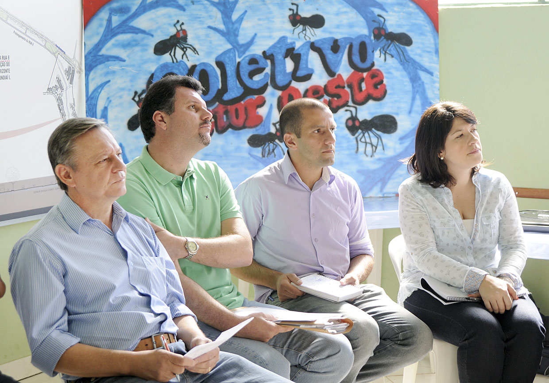 Prefeito Bigardi, Jr. Aprillanti, Edicarlos Vieira e Daniela da Câmara