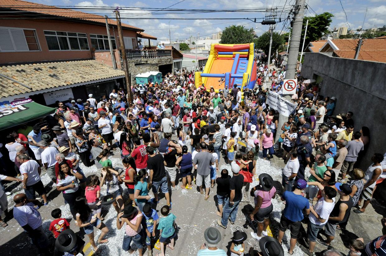 Muita gente compareceu ao evento realizado sábado