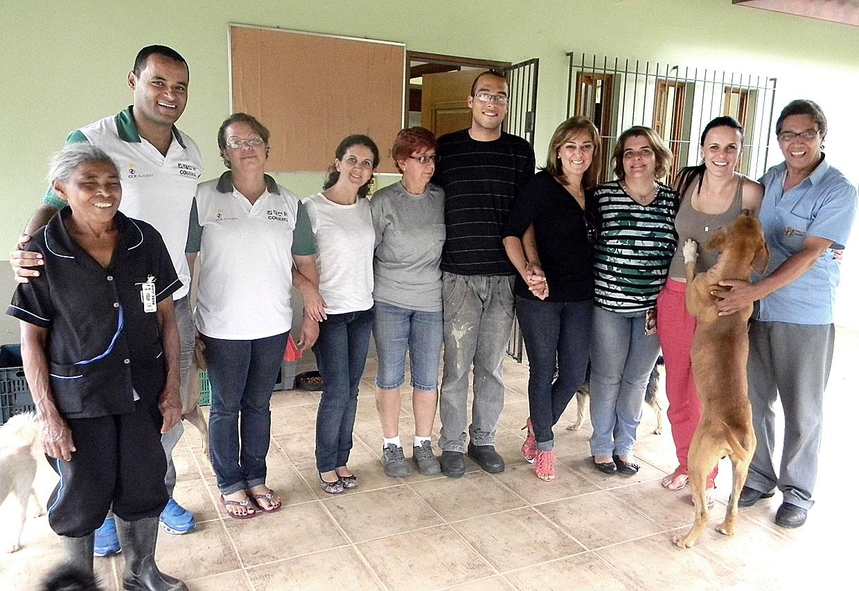 A primeira-dama elogiou o trabalho realizado pela equipe da Coordenadoria