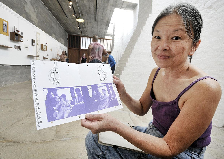 Para a artista plástica Rubi, o trabalho foi especialmente emocionante