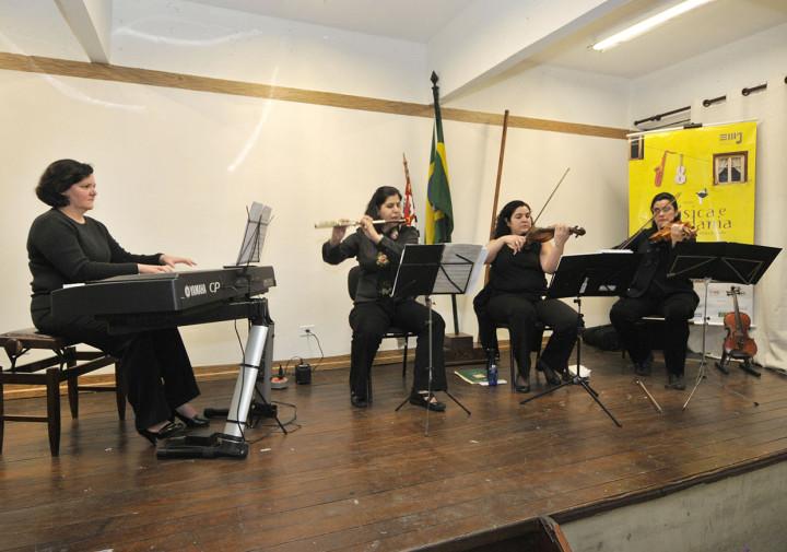 Grupo de Câmara é formado por quatro professoras de música