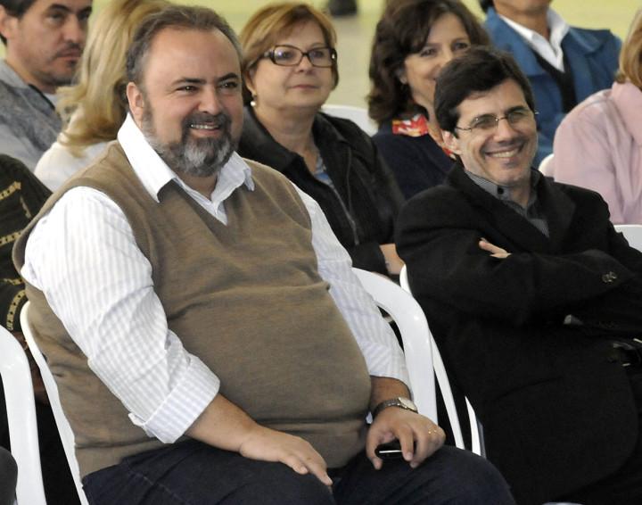 Secretário Durval Orlato e professor José Renato Polli