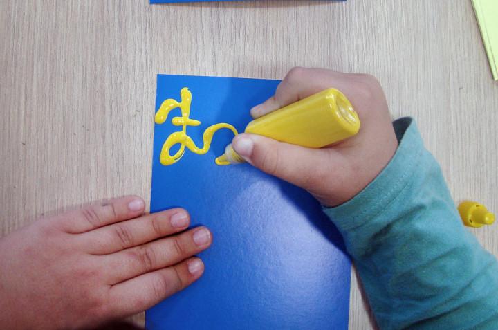 As crianças abusaram da criatividade na Biblioteca