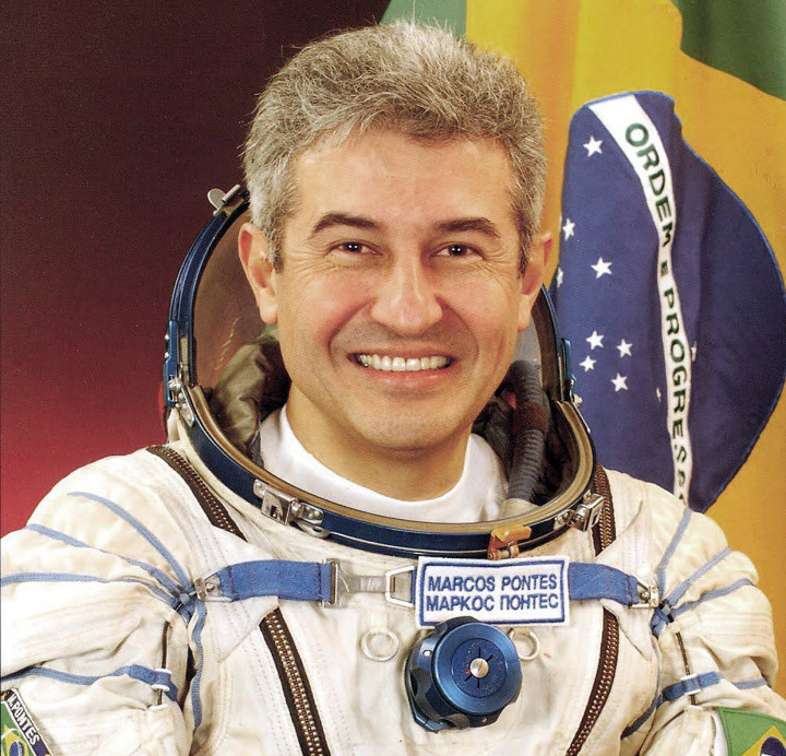 O astronauta Marcos Pontes