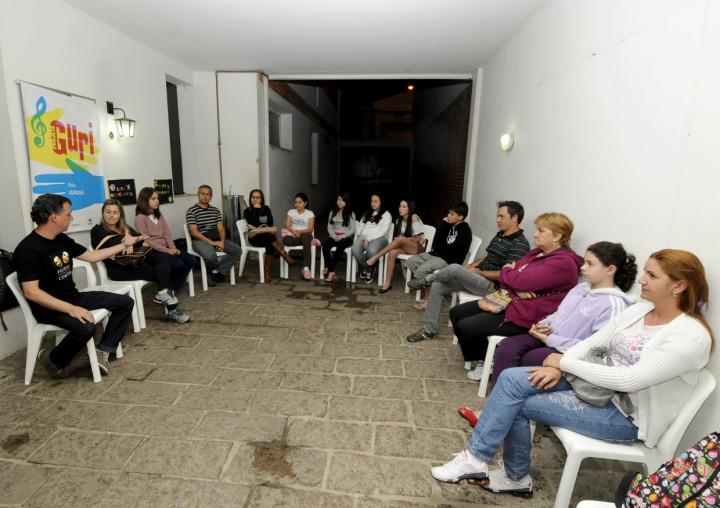 Reunião contou com a participação de pais e responsáveis