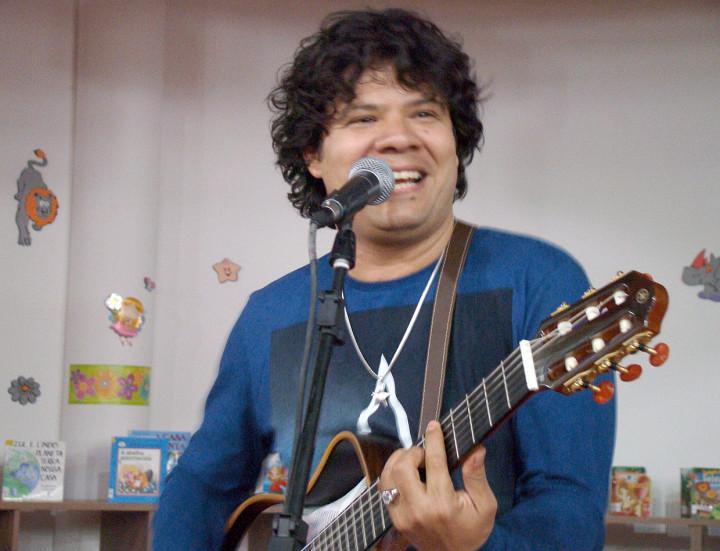 O músico Sapiranga, que é também pesquisador cultural