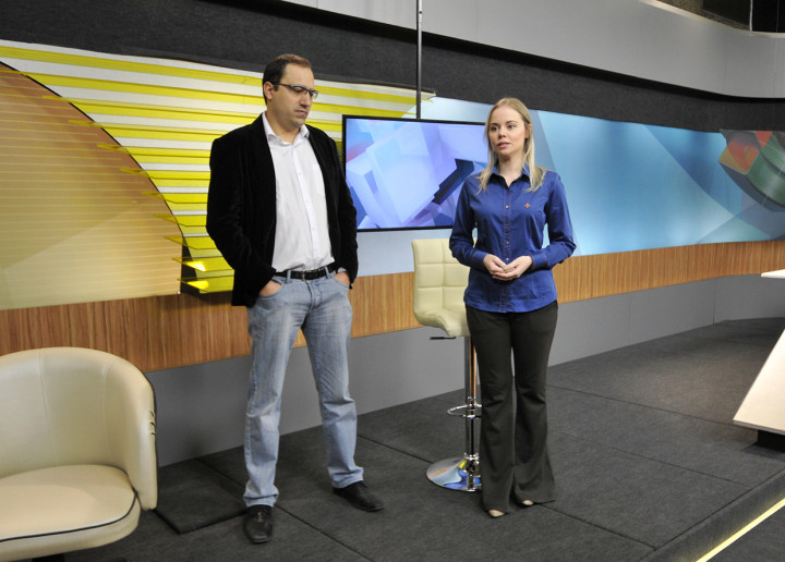 Thiago e Beatriz falam sobre o novo telejornal