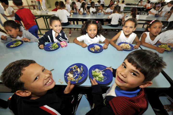 Alunos da EMEB Nacib Cury: alimentação funcional envolve novas combinações nutritivas