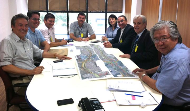 Secretários e representantes da Artesp e da CCR finalizaram projeto funcional