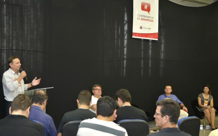 O prefeito Pedro Bigardi participou da cerimônia de abertura da Conferência