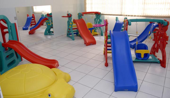 Creches atendem crianças de quatro meses a 3 anos de idade