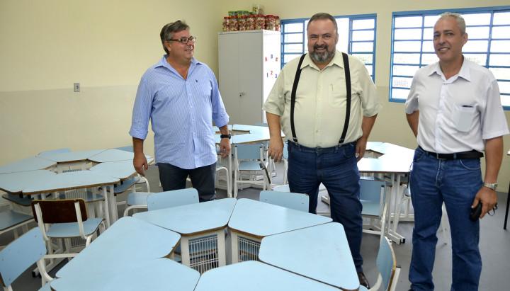 O secretário Durval Orlato visiou as novas instalações