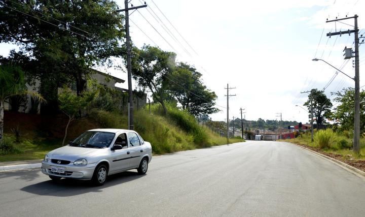 Avenida Juvenal Arantes já pavimentada