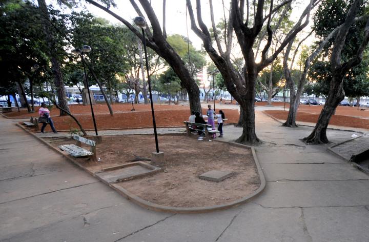 Praça Dom Pedro II: uma das contempladas