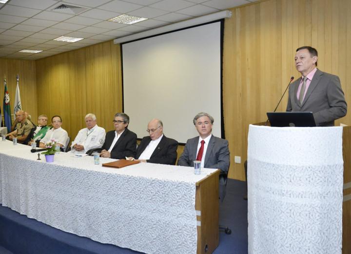 O prefeito Pedro Bigardi destacou a importância da FMJ no cenário nacional