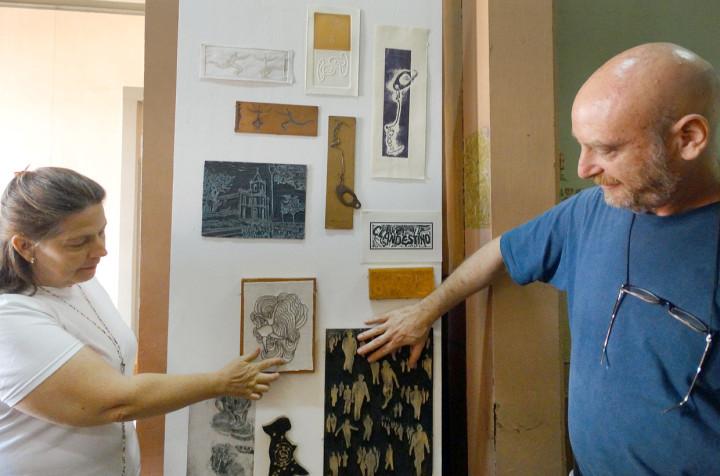 Painel tátil faz parte da Exposição VI(VER)