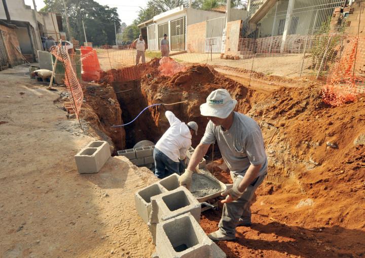 O serviço será concluído em 40 dias pela Secretaria de Obras