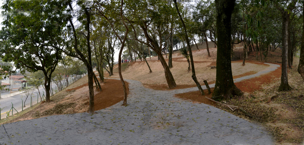 Bosque terá pista de caminhada, academia ao ar livre, mesa de jogos e parque
