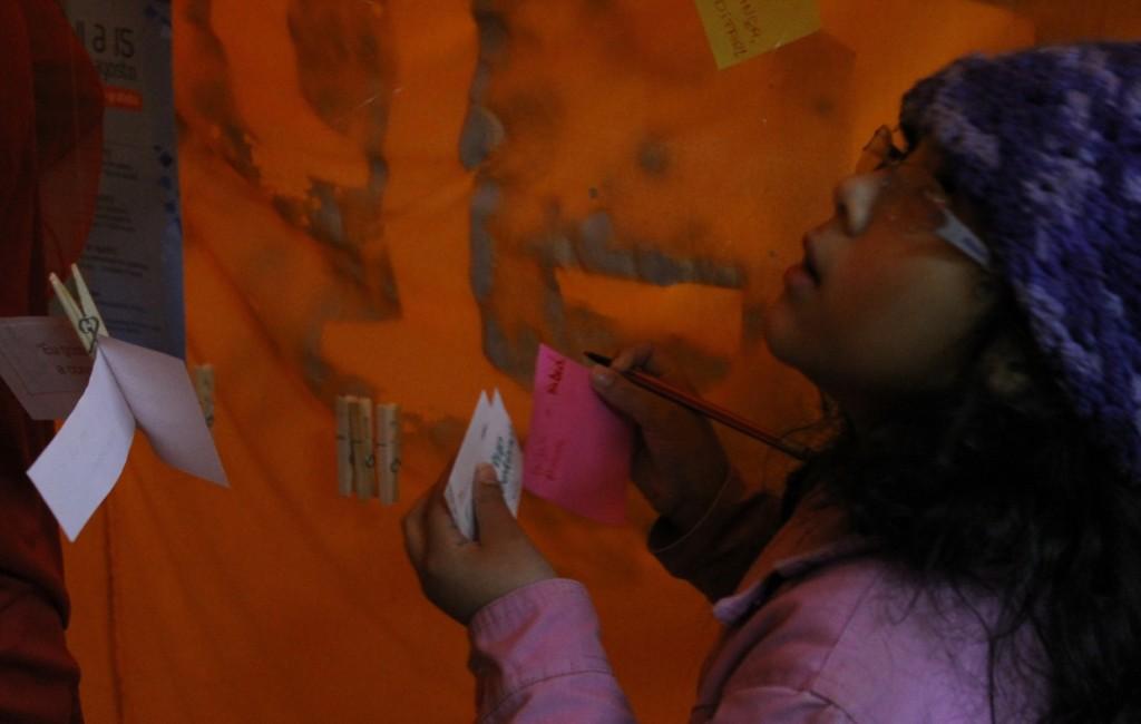 Grupo In-Pulsa fez intervenção para recepcionar os jovens