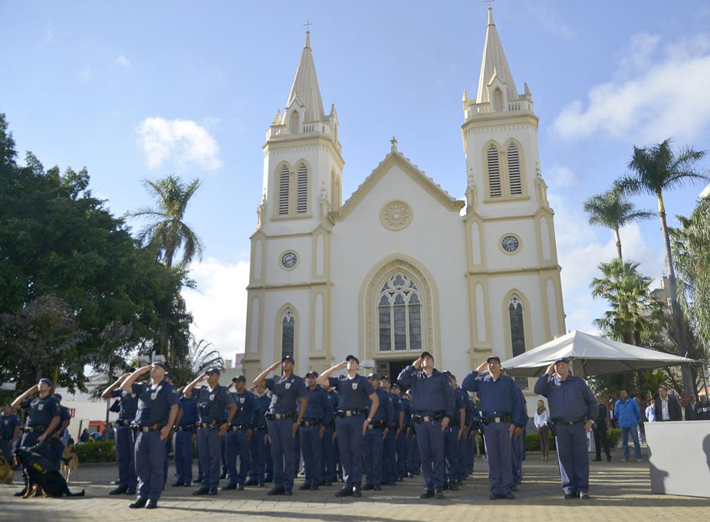 Guarda Municipal participou da solenidade desta quinta