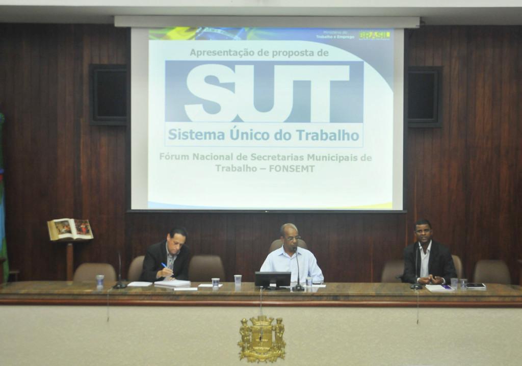 Convidados falaram sobre as propostas do SUT