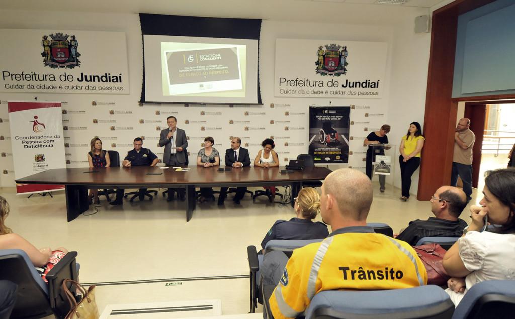 Prefeito falou sobre inclusão no lançamento da campanha