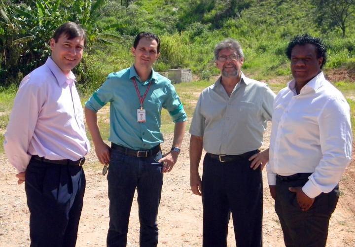 A área oferecida no Geresol atraiu o interesse dos diretores da Almaco