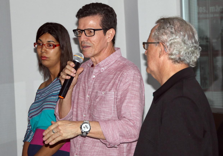 Tércio destacou a importância do documentário como registro da história da romaria