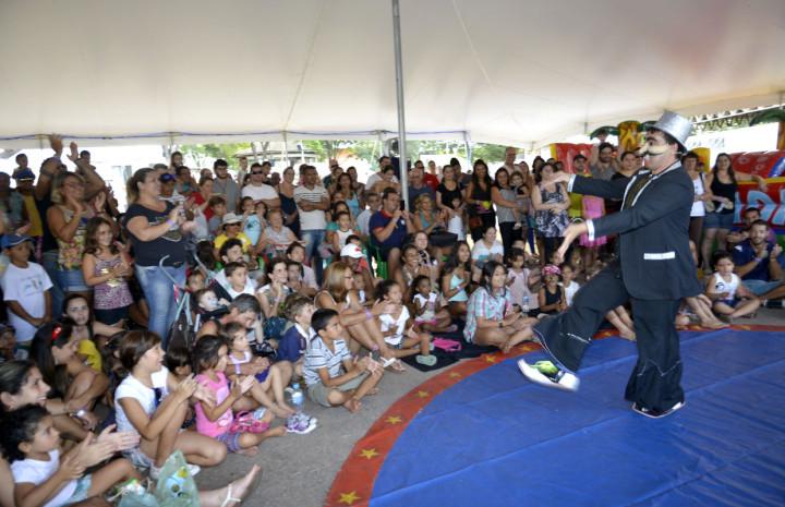 """""""O Grande Circo"""", peça teatral infantil, animou os pequenos"""