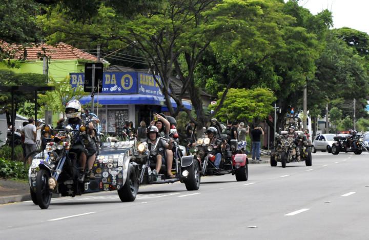 Encontro de Motociclistas é atração de domingo na Festa da Uva