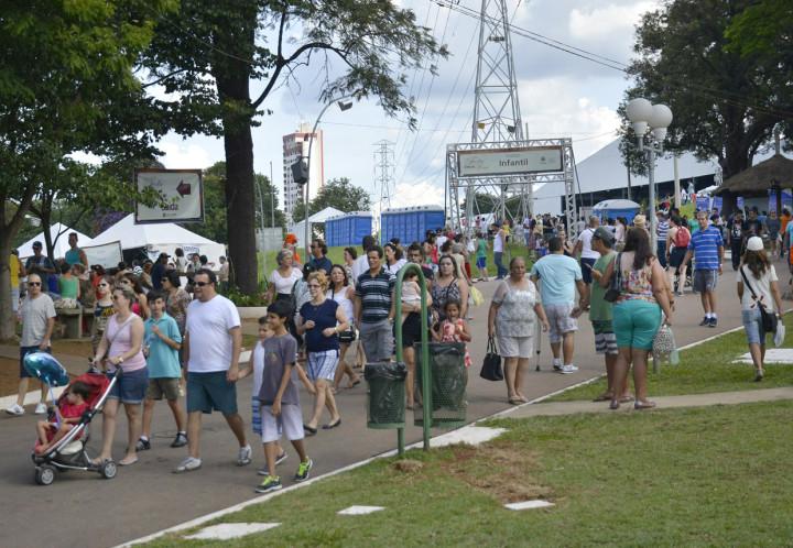 Mais de 50 mil pessoas passaram pelo local no último fim de semana