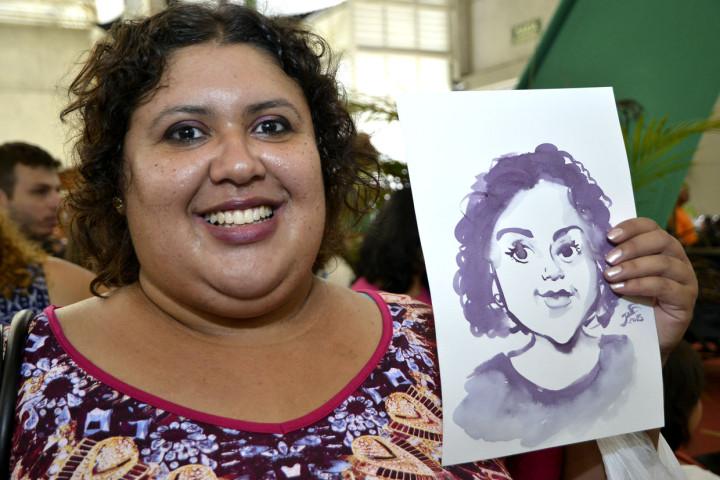 """Liliane elogiou o trabalho dos artistas: """"Muito caprichosos"""""""