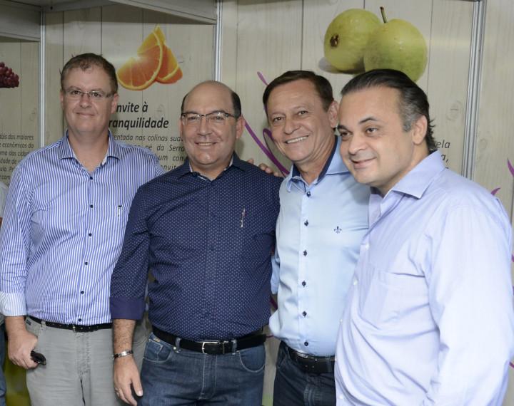 Brunholi, Jaime Cruz, Pedro Bigardi e Roberto de Lucena