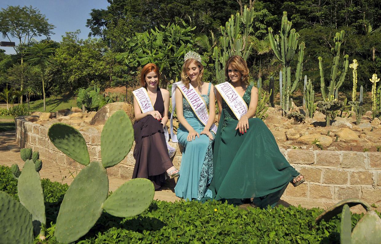 festa no jardim botanico:Jardim Botânico finaliza detalhes do 'Jardim de Cactos