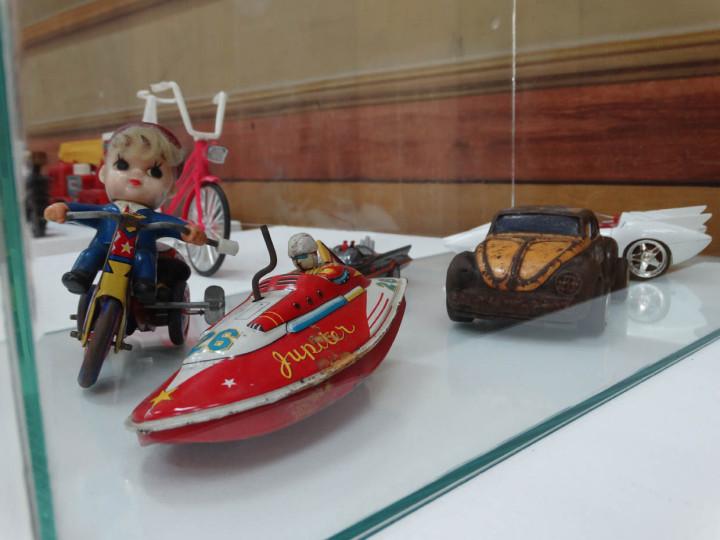 Miniaturas estão entre os destaques da exposição