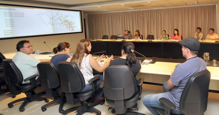 Reunião de trabalho com amplo estudo de potencialidades