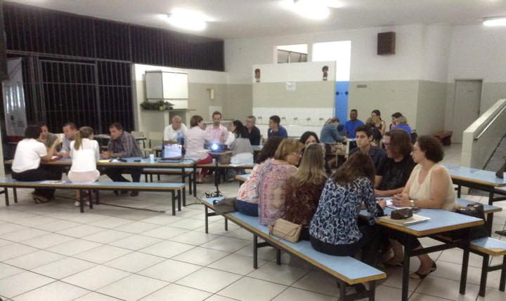 Moradores na quinta das 11 oficinas territoriais do Plano Diretor Participativo