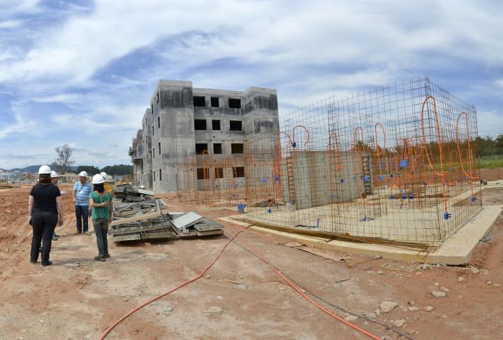 Novo conjunto habitacional da Fumas: obras aceleradas